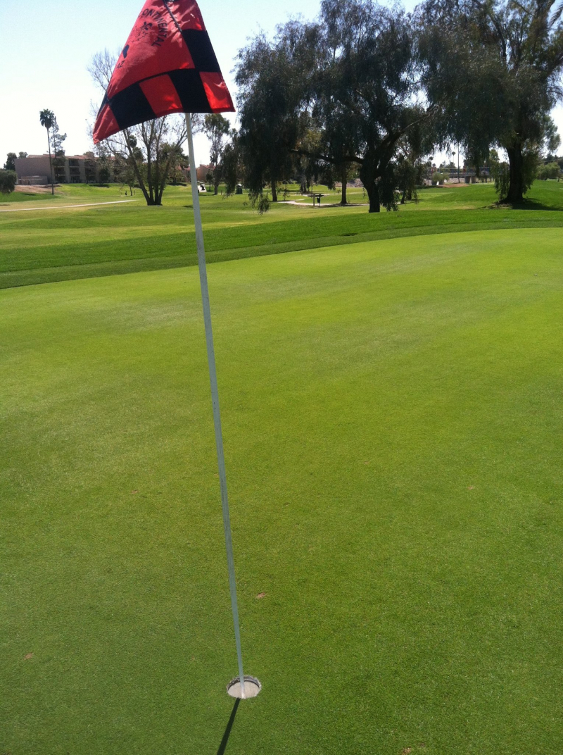 Red Flag on the Green